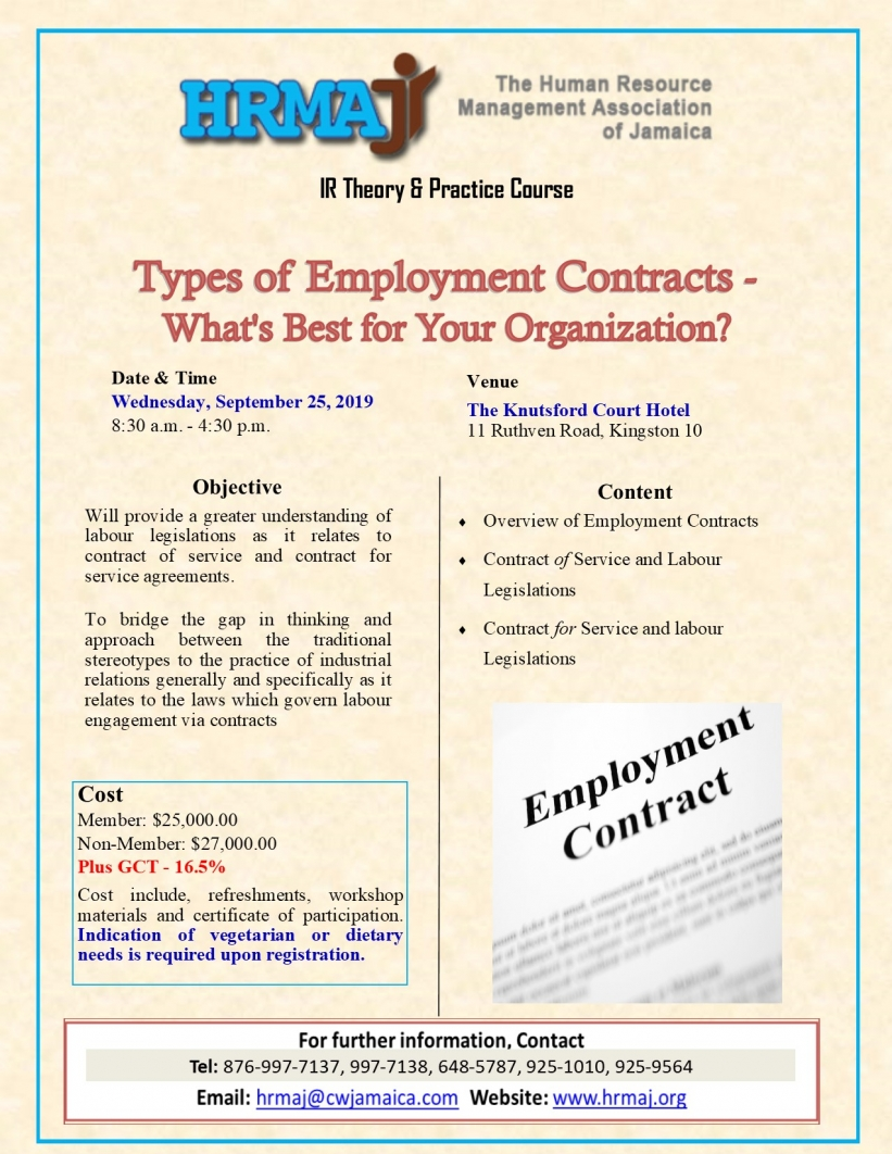 Types of Employment Contracts - What's Best for Your Organization?