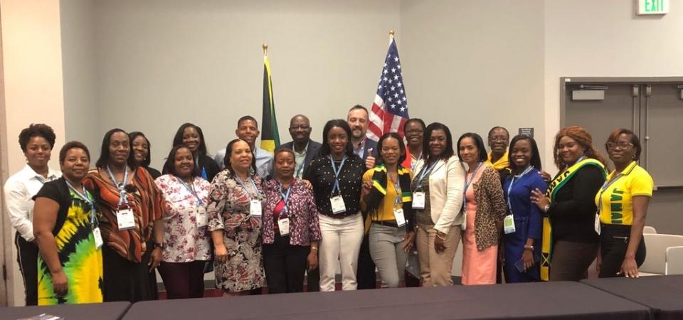 Jamaica-HRMAJ Delegation to SHRM19 held June 23-26, 2019 in Las Vegas